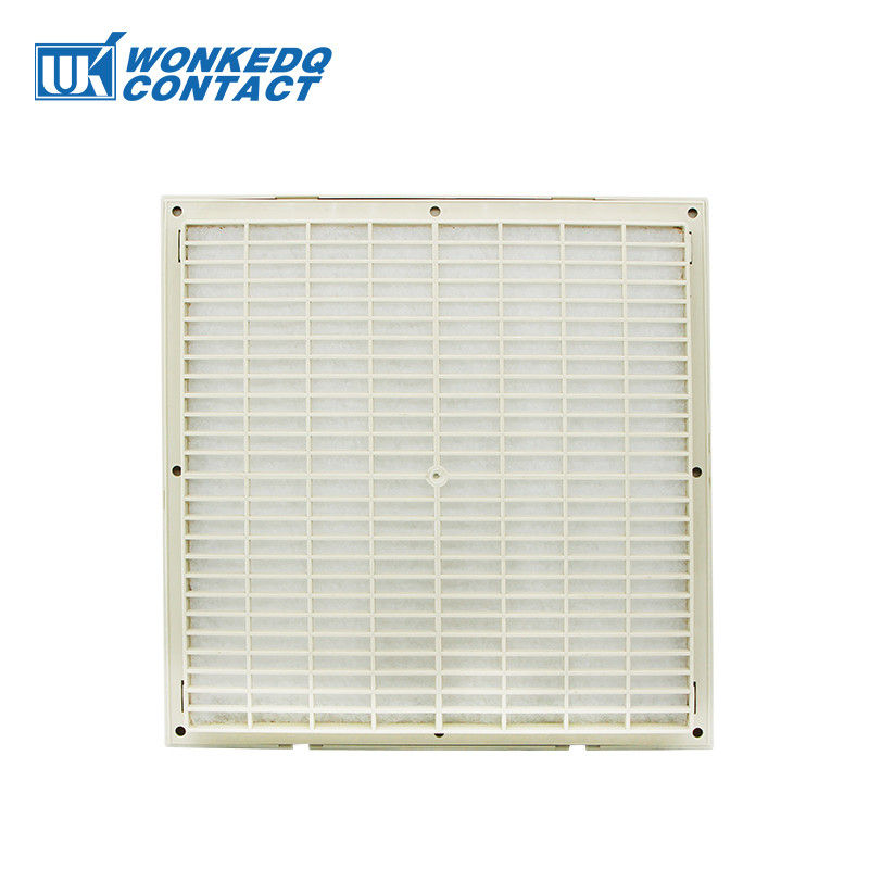 3326-300 Electrical Cabinet Air Filter , Air Clean Control Panel Ventilation Fan 290mm Surface Waterproof ABS Material