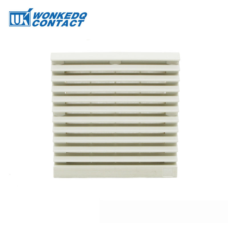 9804-300 Electrical Cabinet Air Filter Grille Louvers Blower Exhaust , Electrical Panel Fan Filters Shutters Cover