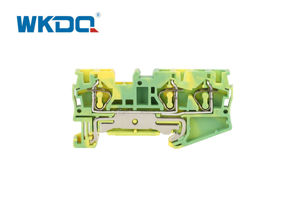 JST 4 QUATTRO PE ST Spring Terminal Block Connector Multi Conductor Grounding Earth