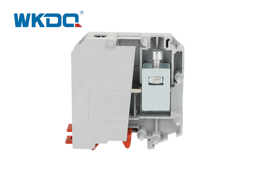 JUKH 50 High Current Barrier din rail Terminal Blocks Screw Type Terminal Block 240mm Cross Section high quality